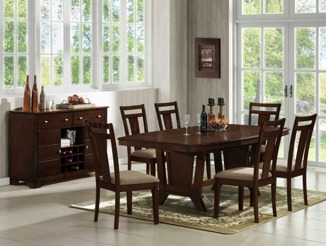 Solid Cherry Dining Room Set Table And Chairs Furniture Everett