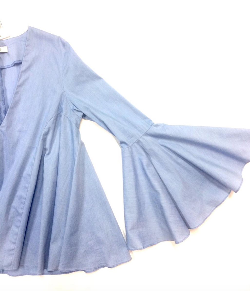 Bell sleeve top from Alexis