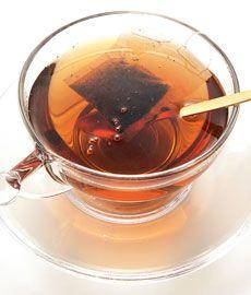 Chá preto baixa a pressão