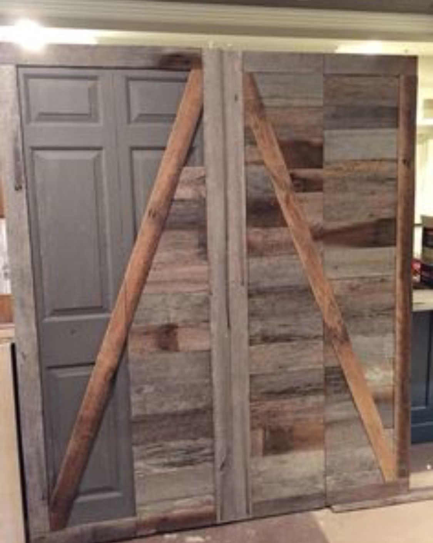 Pin By Angie Pasquin On Barn Doors Doors Closet Doors Wood Doors