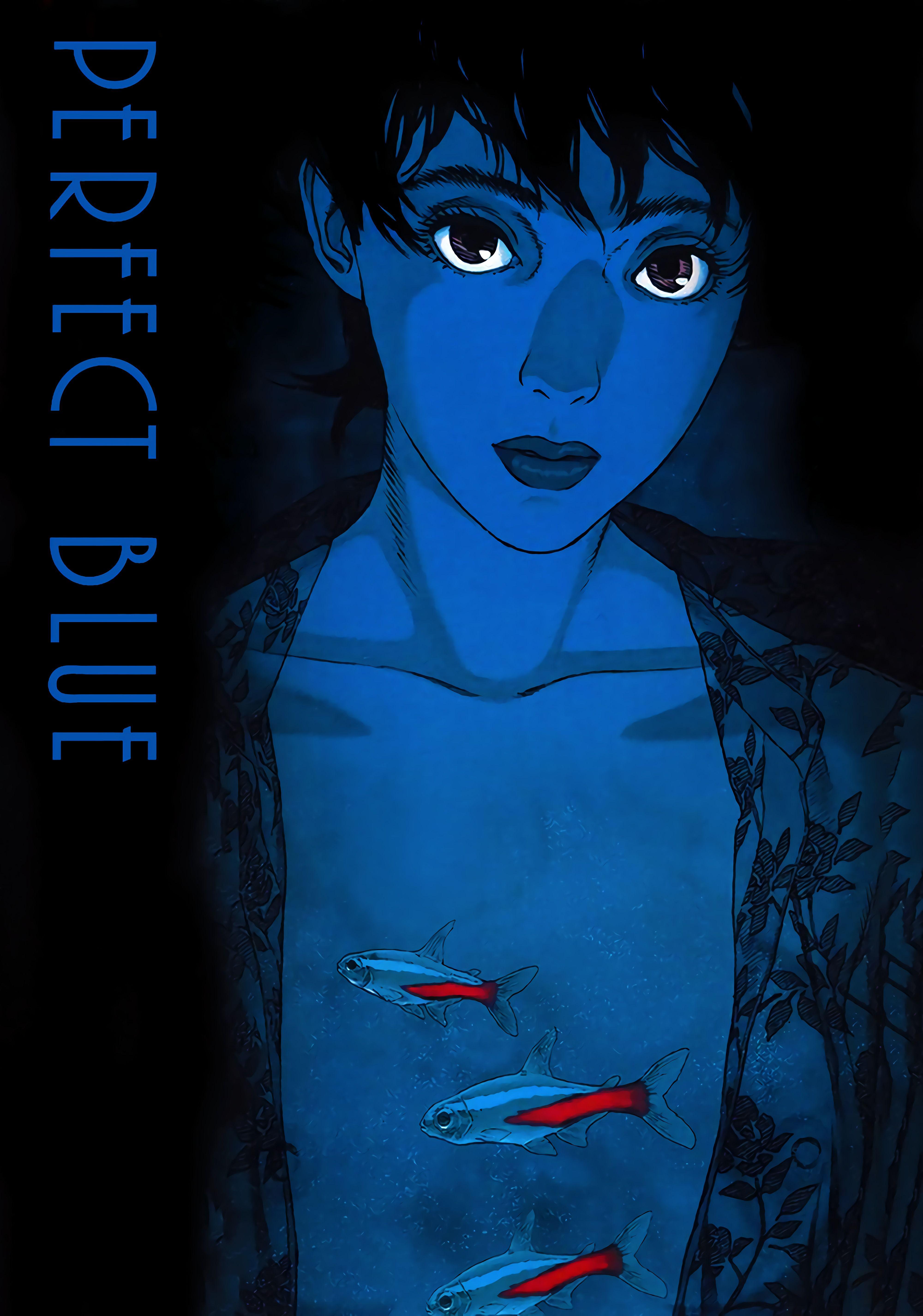 Perfect Blue 1997 4000 X 5704 Anime Wall Art Blue Anime Anime Wallpaper