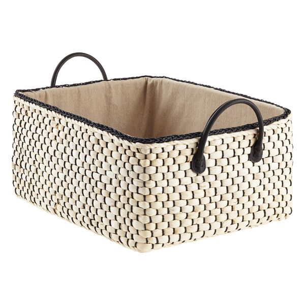 Loft Woven Storage Bins With Handles Storage Bins Plastic Storage Bins Fabric Storage Bins