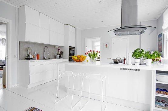 La Cocina Es Lo Importante Cocina Nordica Con Peninsula Diseno