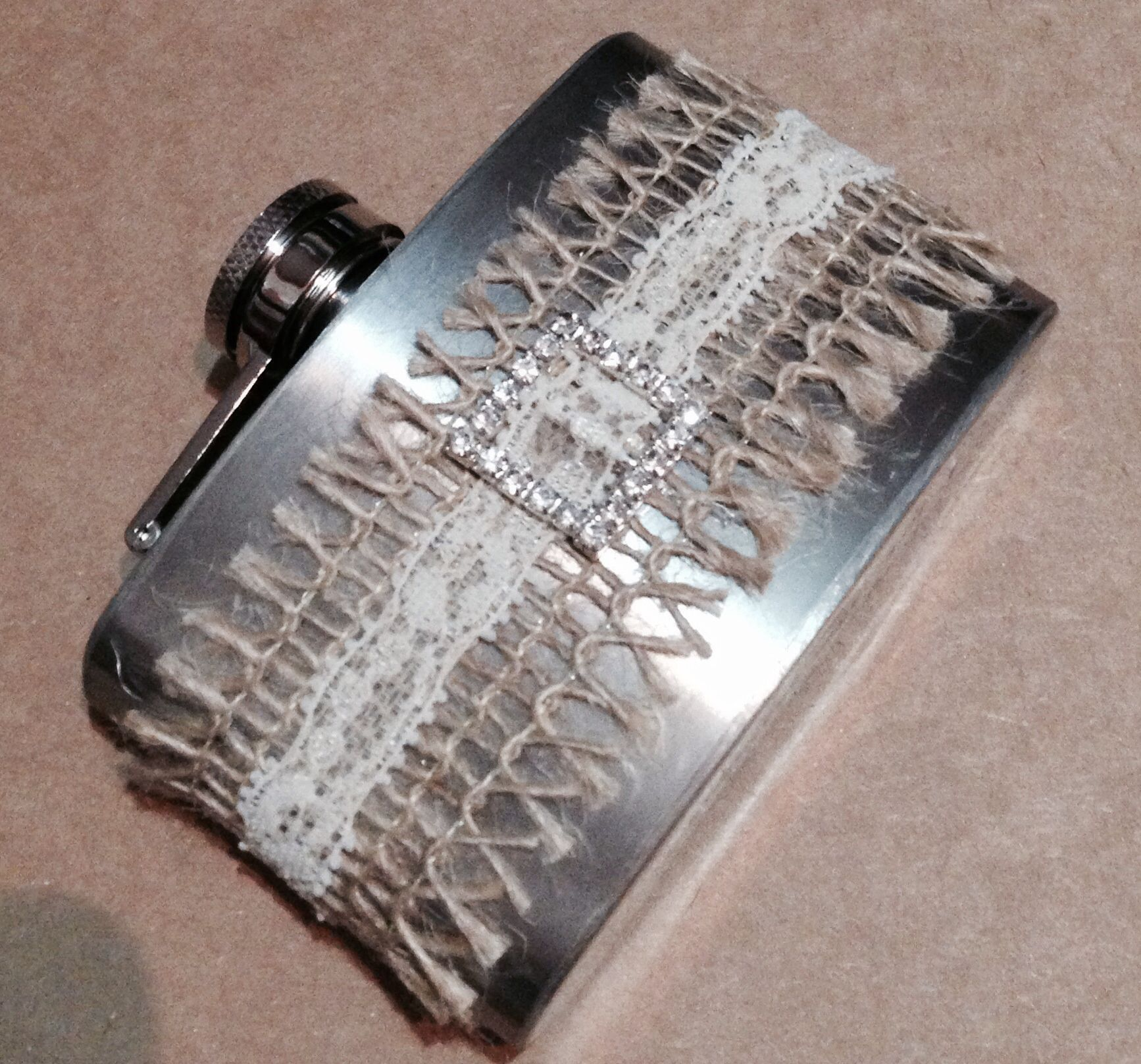 Decorated flask