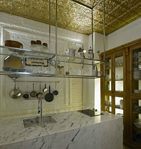 Kitchen in the Istanbul home of one of the Autoban designers.