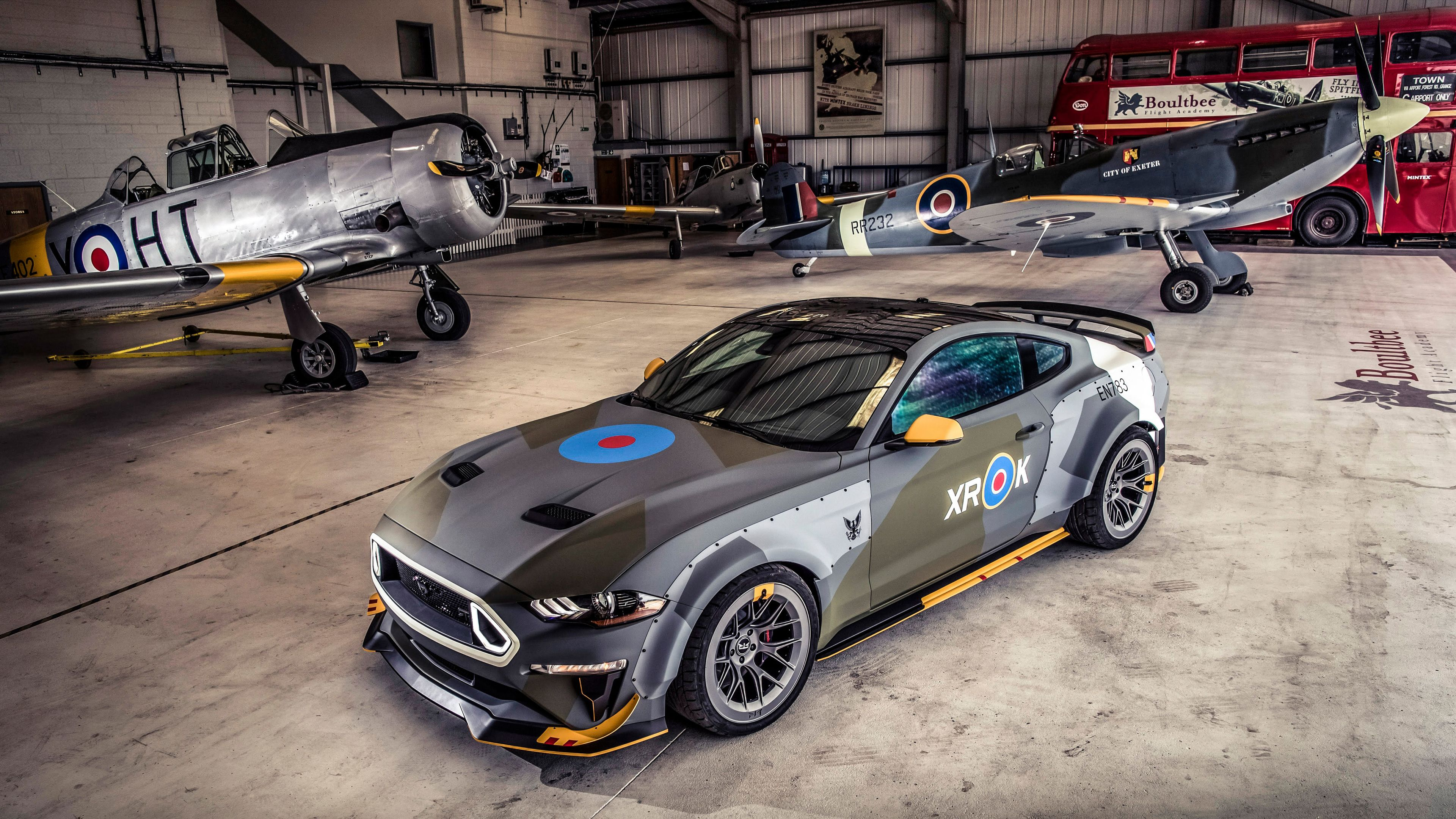 Ford Eagle Squadron Mustang Gt 2018 4k Mustang Wallpapers Hd