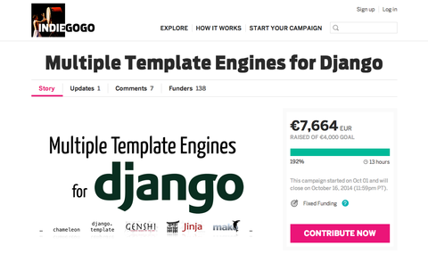 We\'re a Gold Sponsor of Multiple Template Engines for Django – Two ...