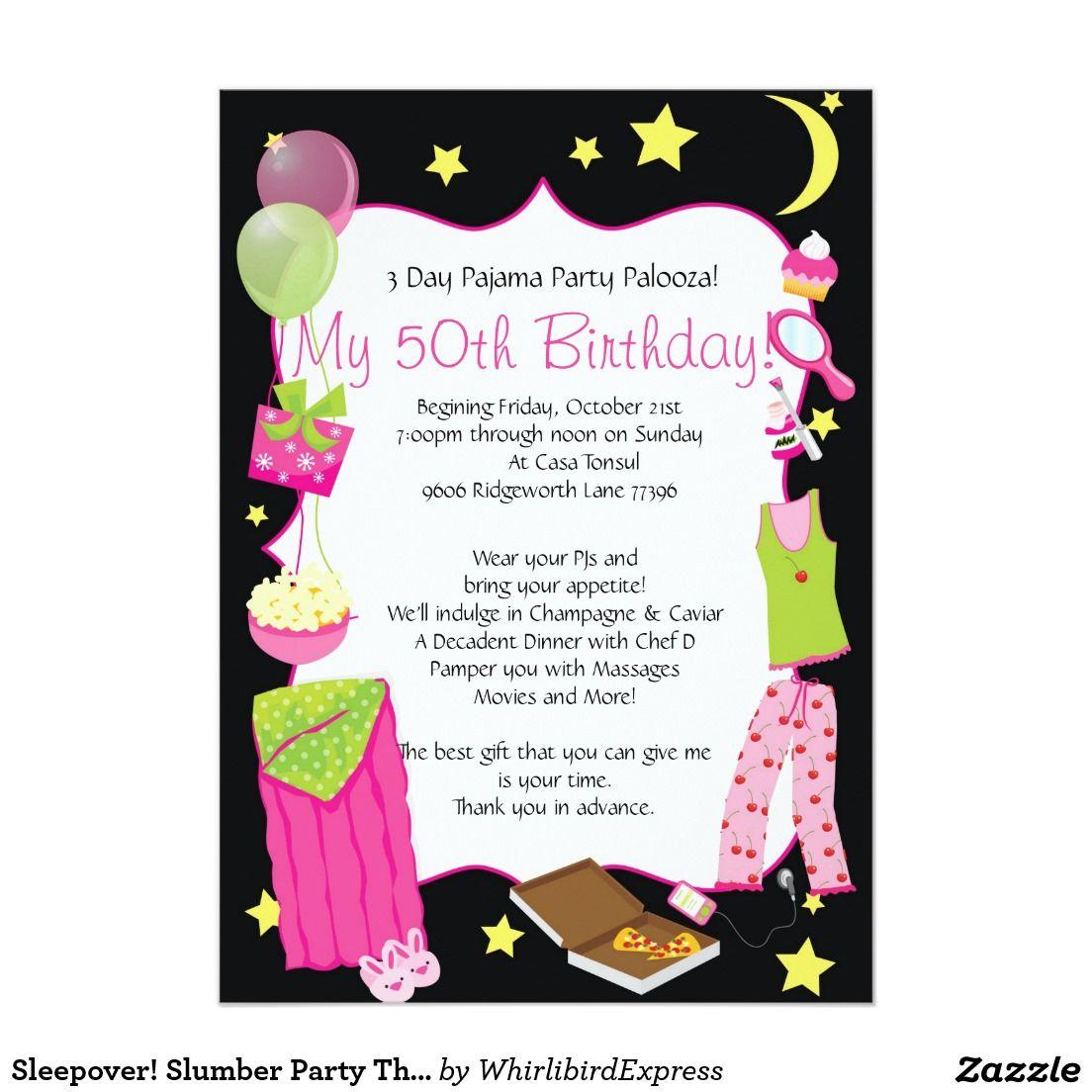 My Birthday Invite | 50th Birthday party ideas | Pinterest