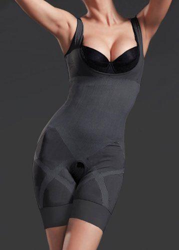 16dcb7e516 Black Friday Bamboo Charcoal Magic Slim Full Body Shaper Waist Cincher  Thigh Reducer Breast Enchancer All in One