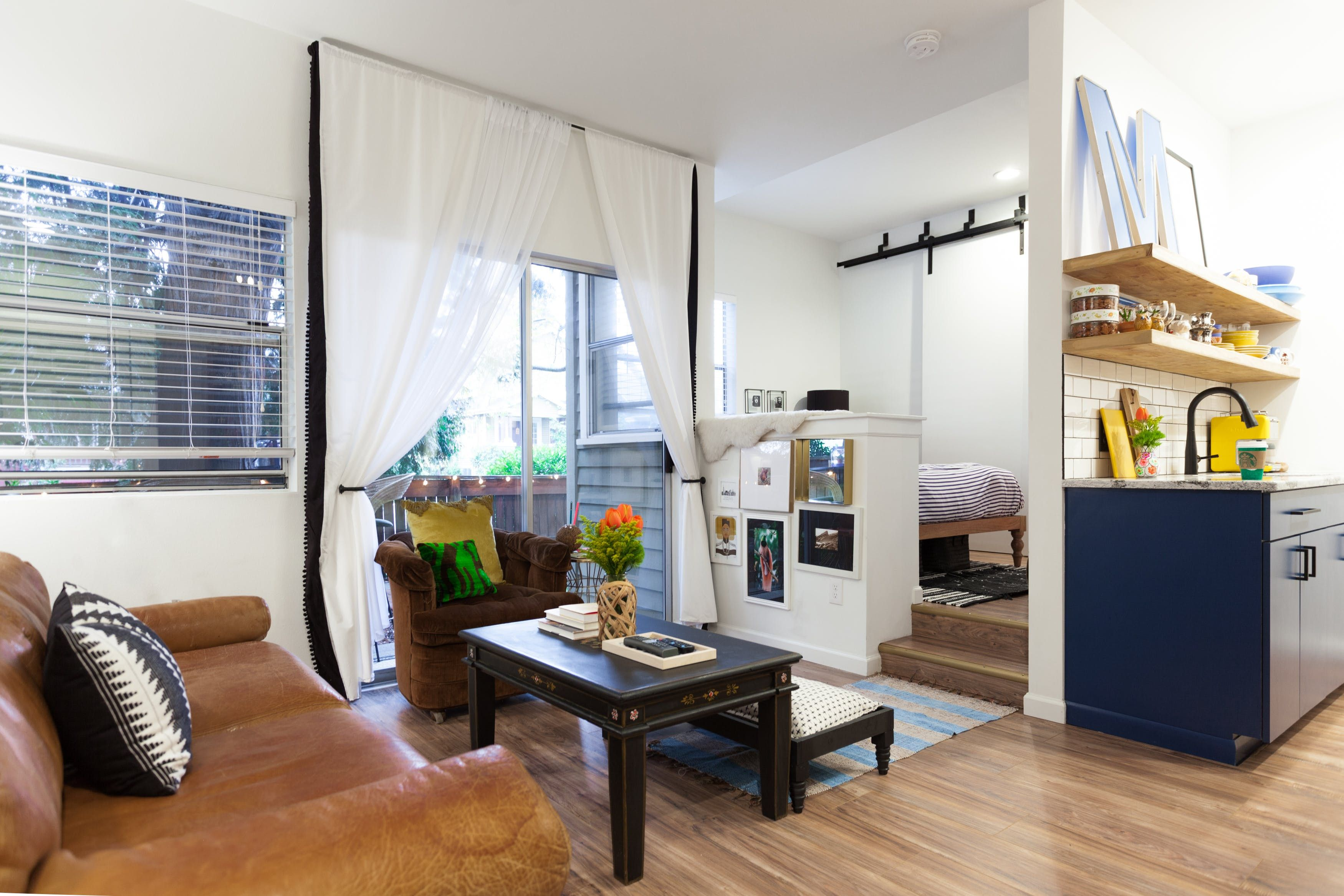This 366 Square Foot Studio Has Some Of The Best Small Space Ideas