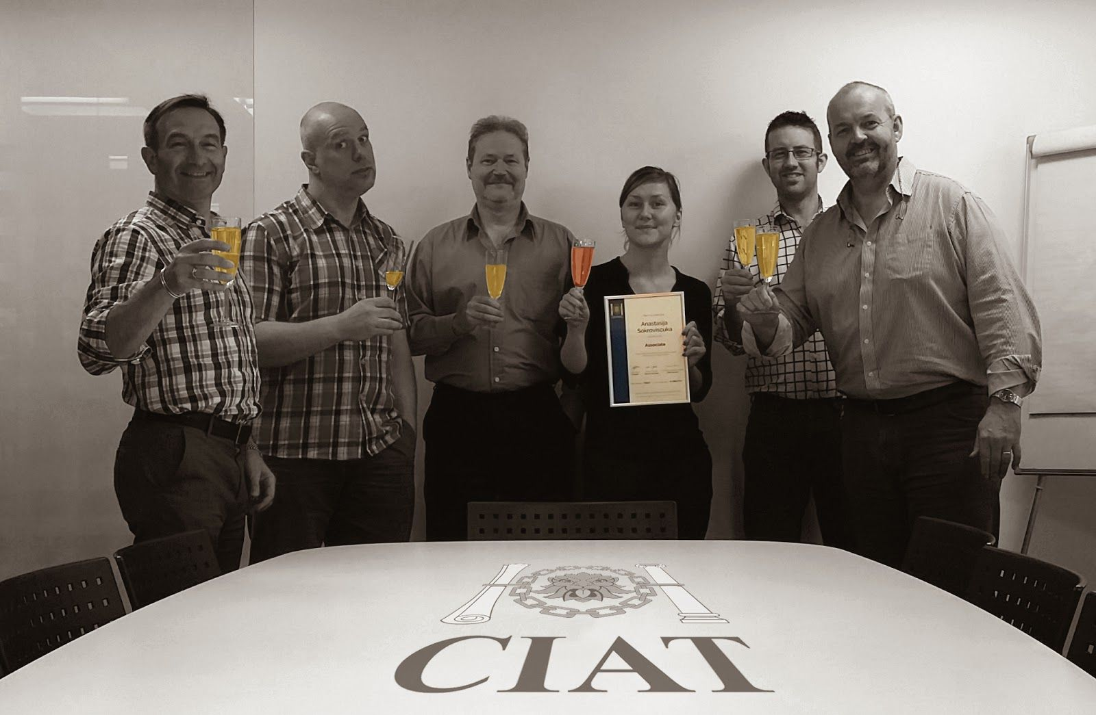 Stephen George & Partners LLP: CIAT MEMBERSHIP FOR NASTJA