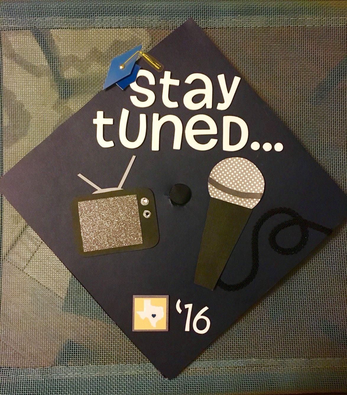 My Graduation Cap Journalism Major Future Reporter