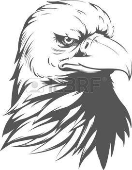 Stock Photo Eagle Silhouette Eagle Painting Eagle Drawing
