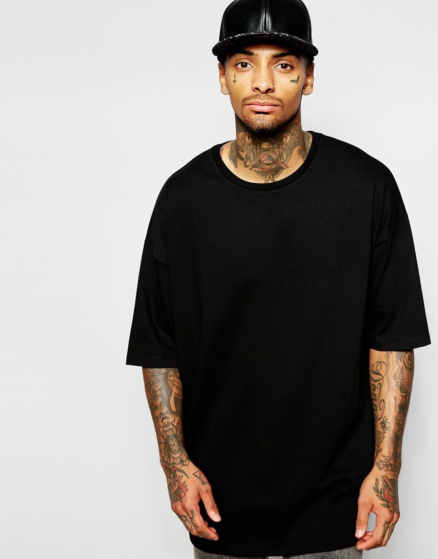 Shop ASOS Super Oversized T-Shirt In Heavyweight Jersey at ASOS.