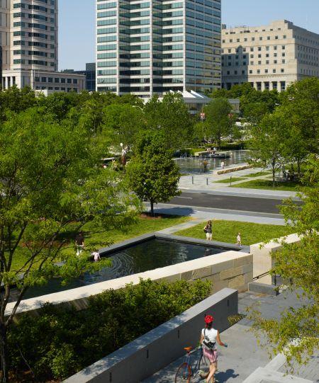 Nelson, Byrd, Woltz Landscape Architects - City Garden, St. Louis, MO - Nelson, Byrd, Woltz Landscape Architects - City Garden, St. Louis