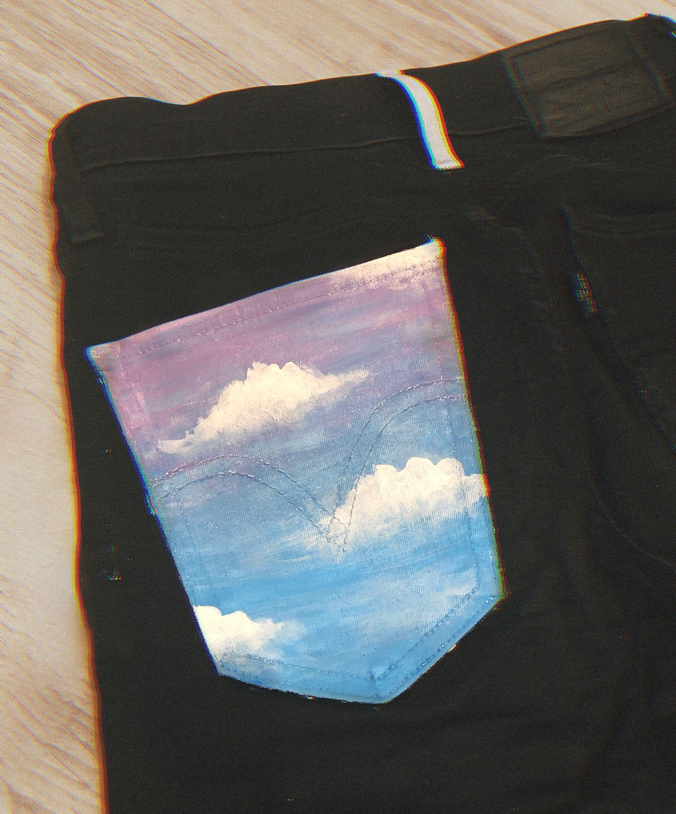Pin De Gigi En Pantalones Ropa Pintada Pintura Para Ropa Jeans Pintados