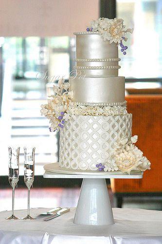 Tartas de boda - Wedding Cake - ELEGANCE