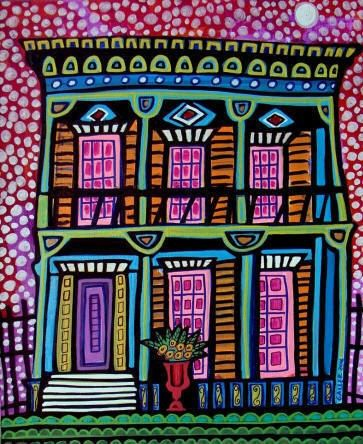 New Orleans Nola Art Print Poster By Heather Galler French