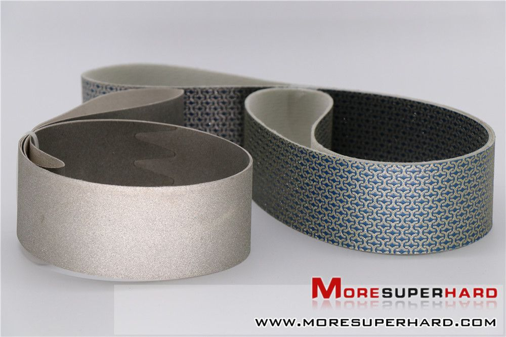 A Terrific Alternative To Conventional Sandpaper Belts Our Flexible Diamond Belts Are Used Extensively In The Wet Grinding An In 2020 Artificial Diamonds Diamond Belt