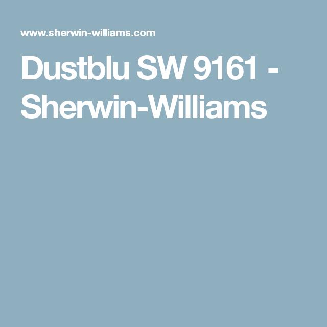 Dustblu SW 9161 - Sherwin-Williams   Office   Pinterest   Exterior ...