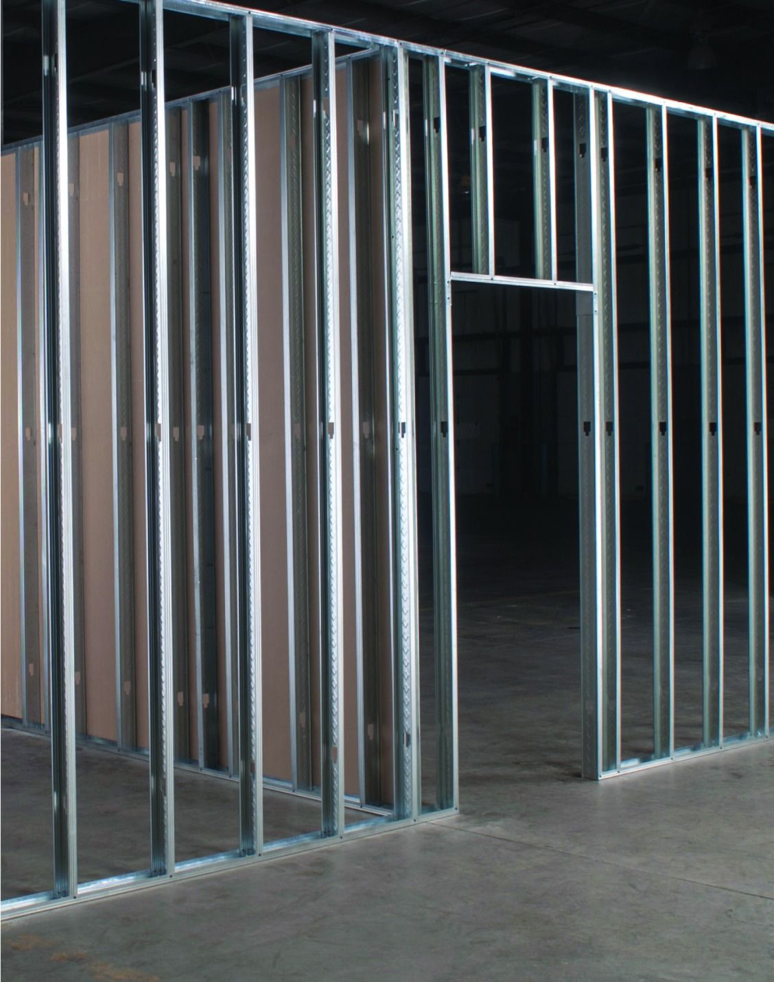 Create Sturdy Structures With 3 5 8 X 8 Interior 25 Gauge Metal