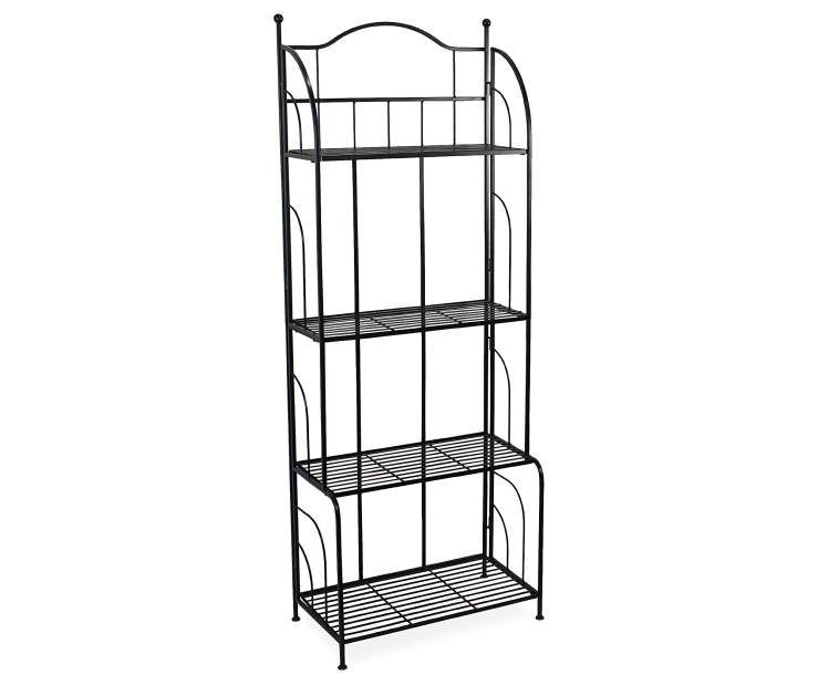 Wilson Fisher Black 4 Tier Bakers Rack Plant Stand With Images