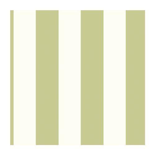 Sage Green Striped Wallpaper Os0863 3 5 Inch Stripe White Home Improvement