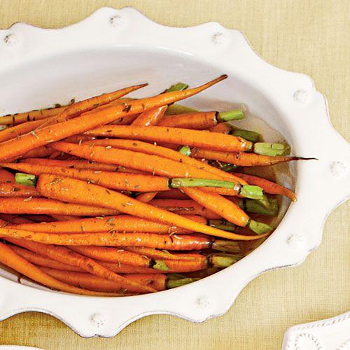 Honey-Glazed Carrots - A Seaside Feast - Coastal Living