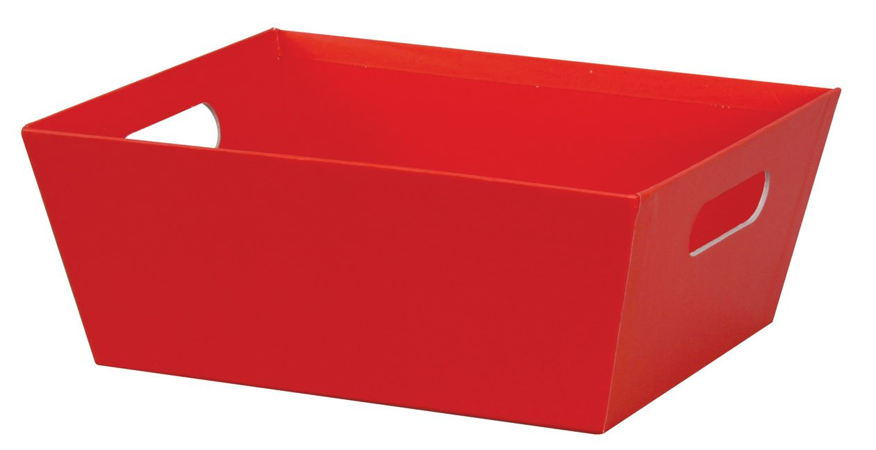 Large Market Tray Box 12 3 Pc Pkg Red Baskets Boxes Tray Box