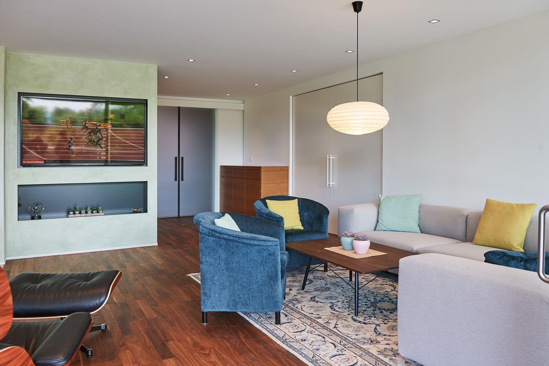 Modernisierung Wohnzimmer // Altersgerechte Anpassung mit breiten ...