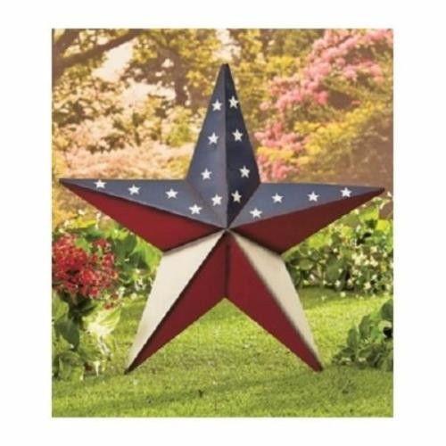 Americana Patriotic Star Barn Wall Decor 24\