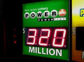 I'd love to win 320 million!