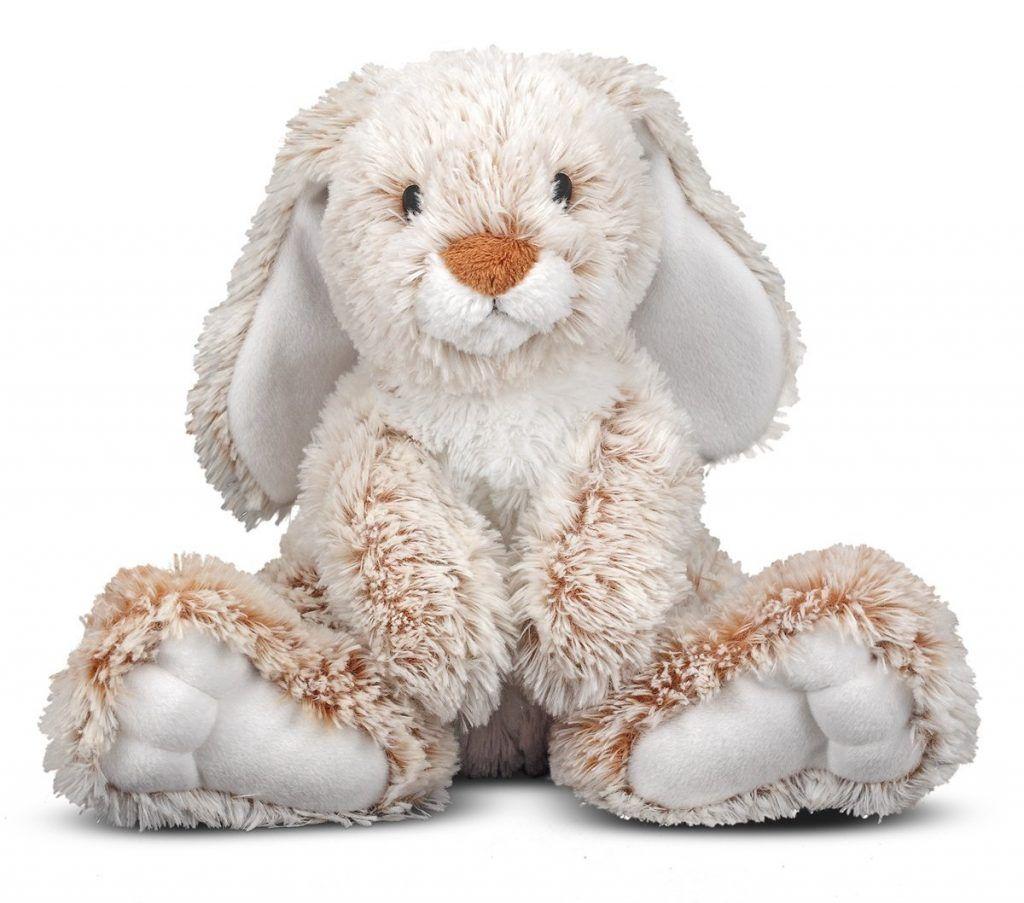 Melissa & Doug Princess Soft Toys 14 Plush Burrow Bunny | Plush ...