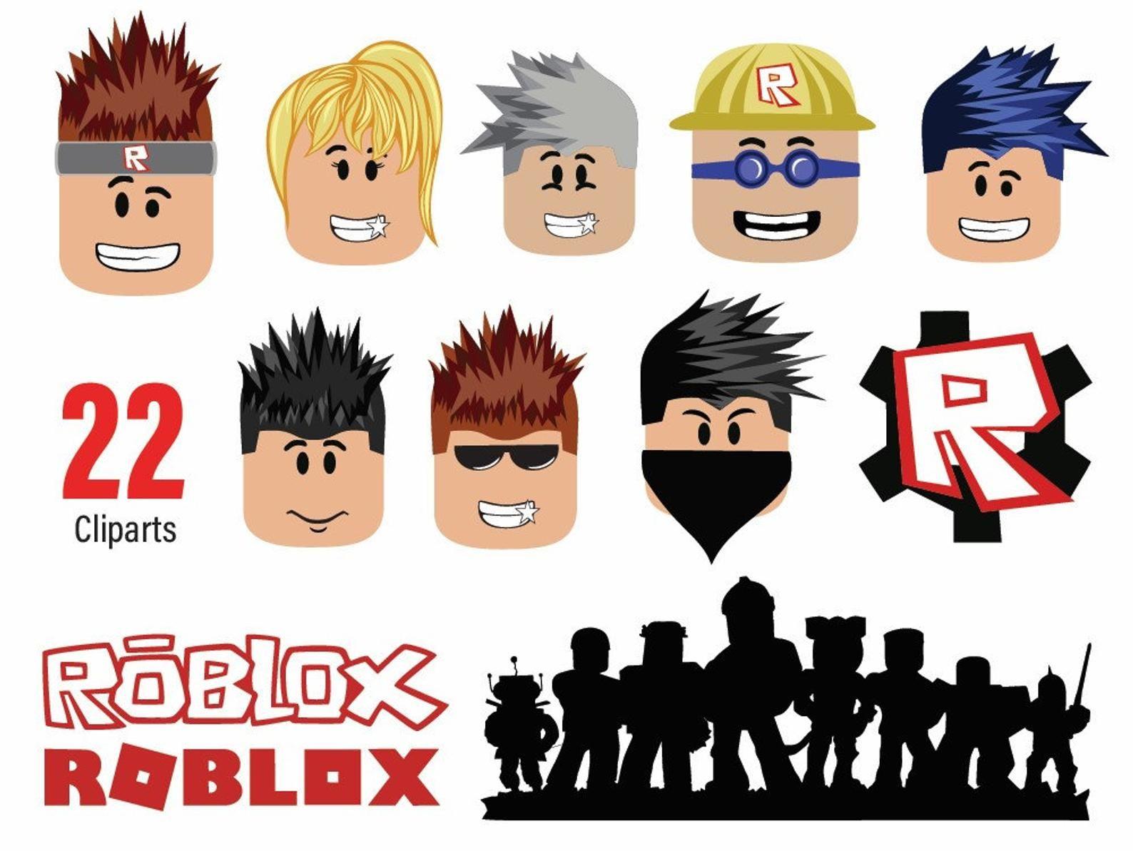 22 Imagenes Predisenadas De Vectores Roblox Svg Archivos Etsy In 2020 Birthday Photo Booths Birthday Printables Roblox