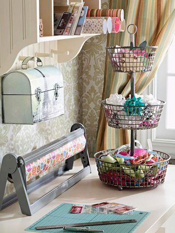 22 Tips to Organize Your Craft Room Part 2 Pinterest Storage