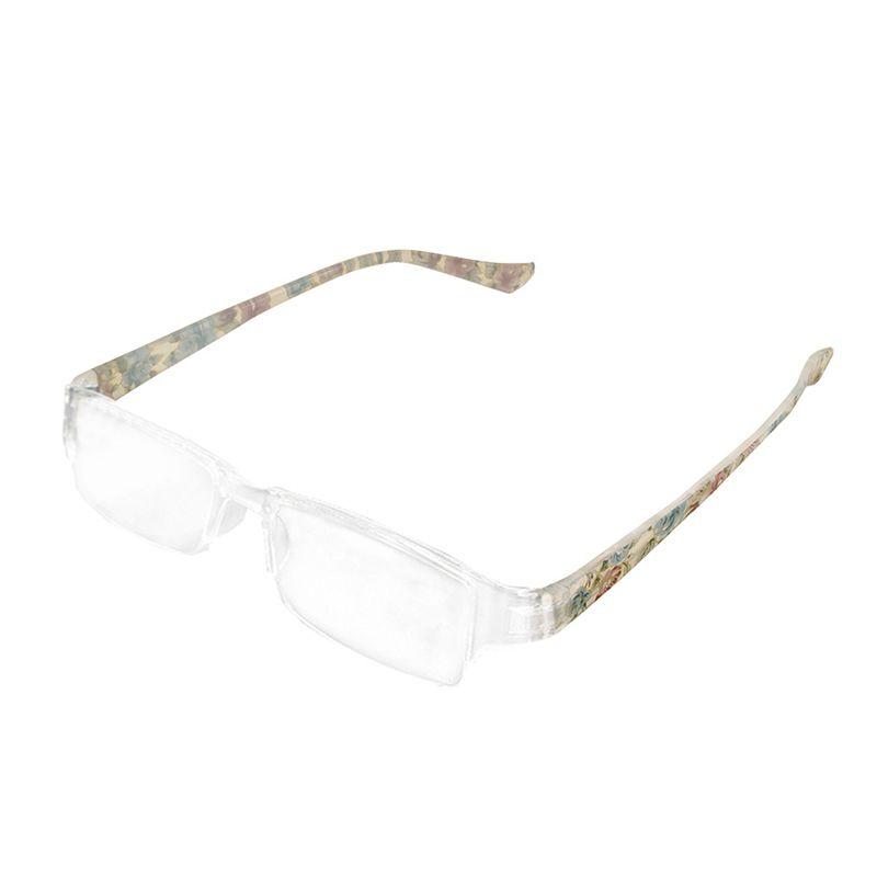 Floral azul medio sin montura fatiga presbicia aliviar las gafas de ...