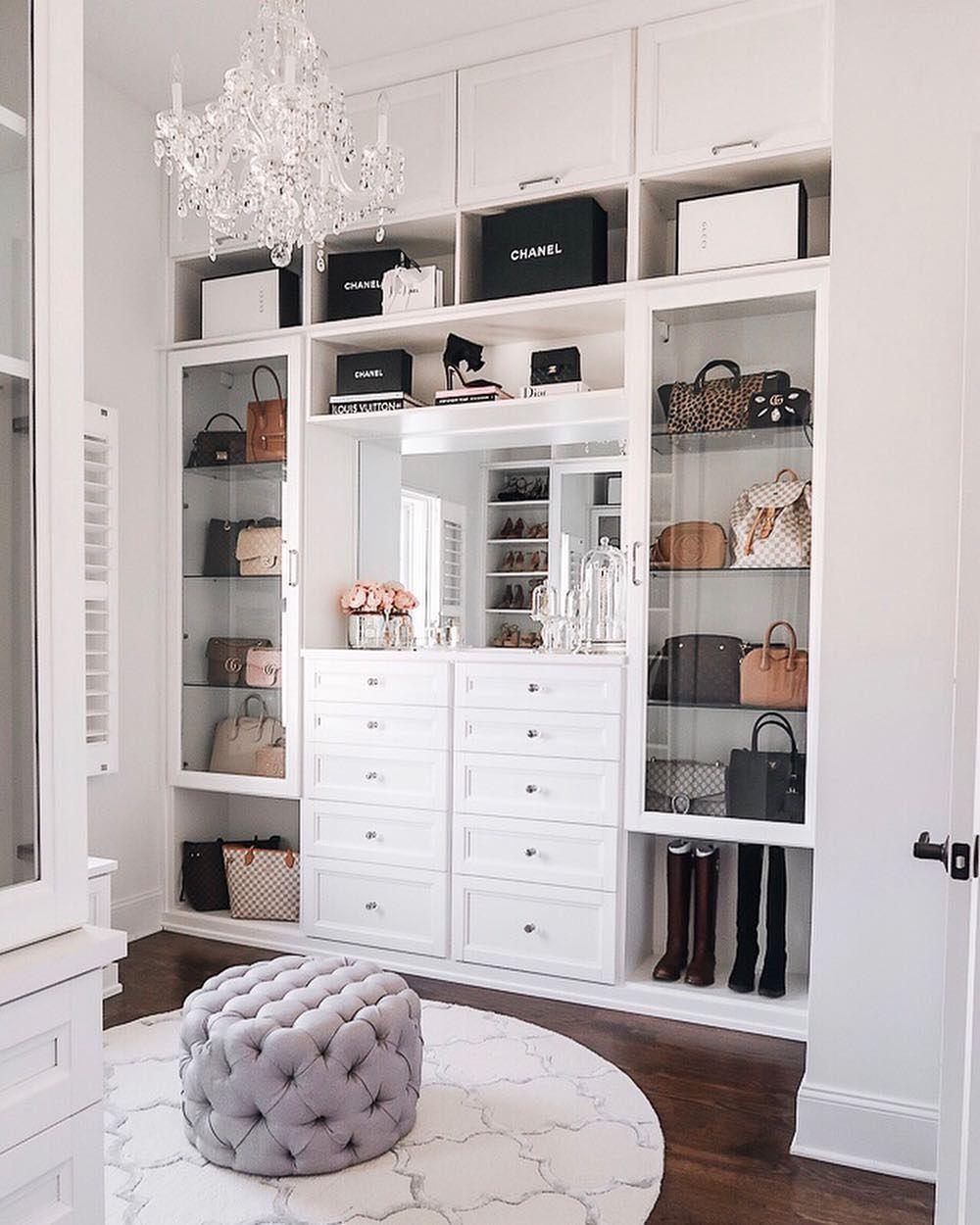 Caitlin Covington On Instagram New Igtv Video My Closet Tour I M Taking You Into My Closet Showing Closet Decor Closet Renovation Master Bedroom Closet