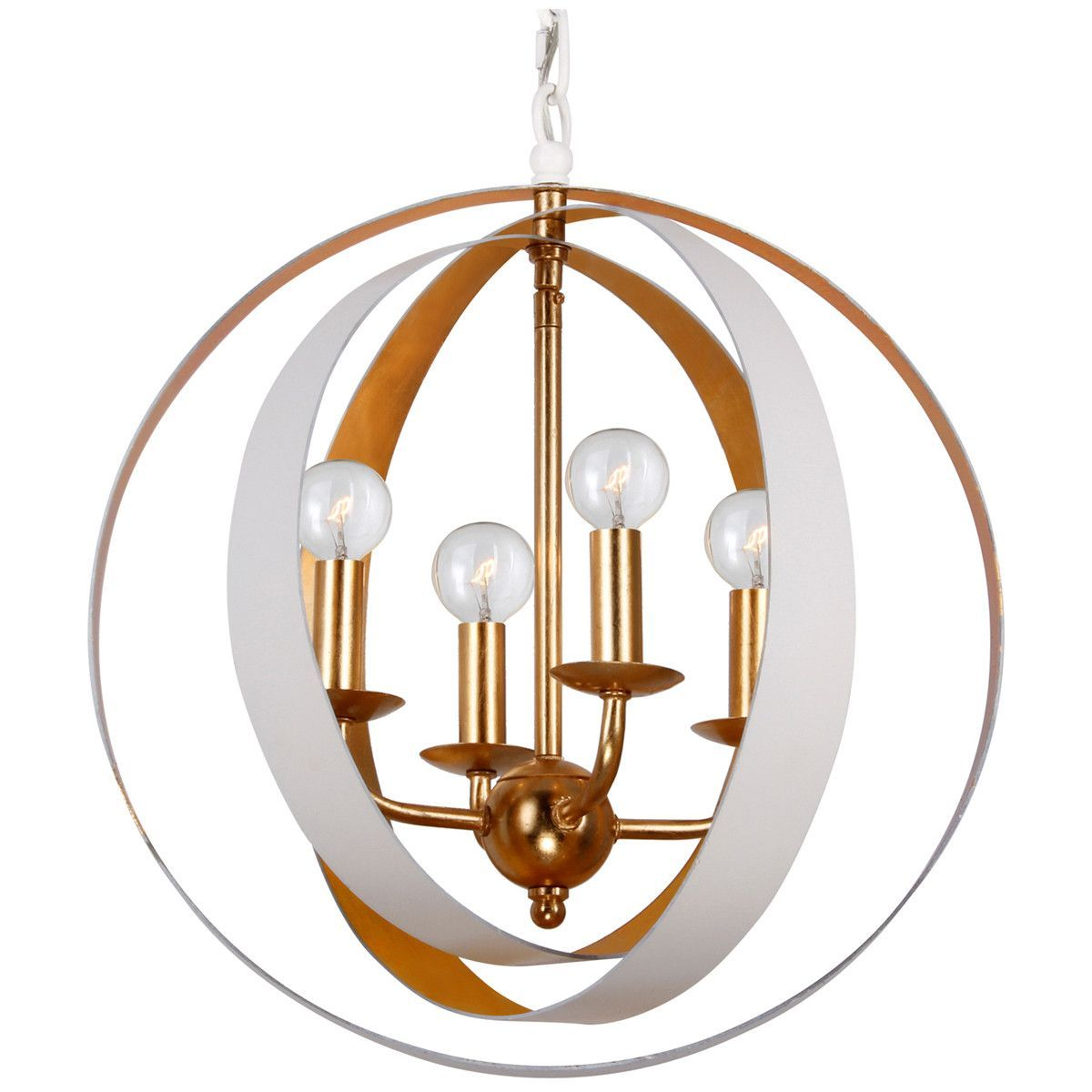 Crystorama luna lights gold sphere mini chandelier products