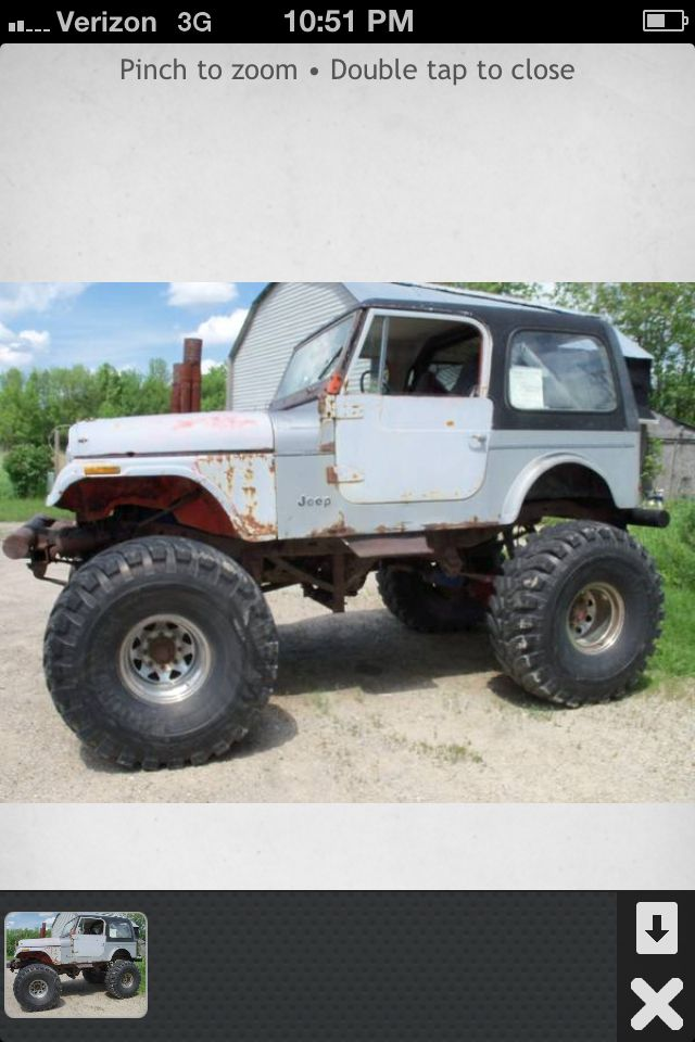 Lifted Jeeps For Sale Craigslist : lifted, jeeps, craigslist, Bogger, Ground, Hawgs, Lift,, Chevy, Axles,, Motor, Jeep,, Monster, Trucks,