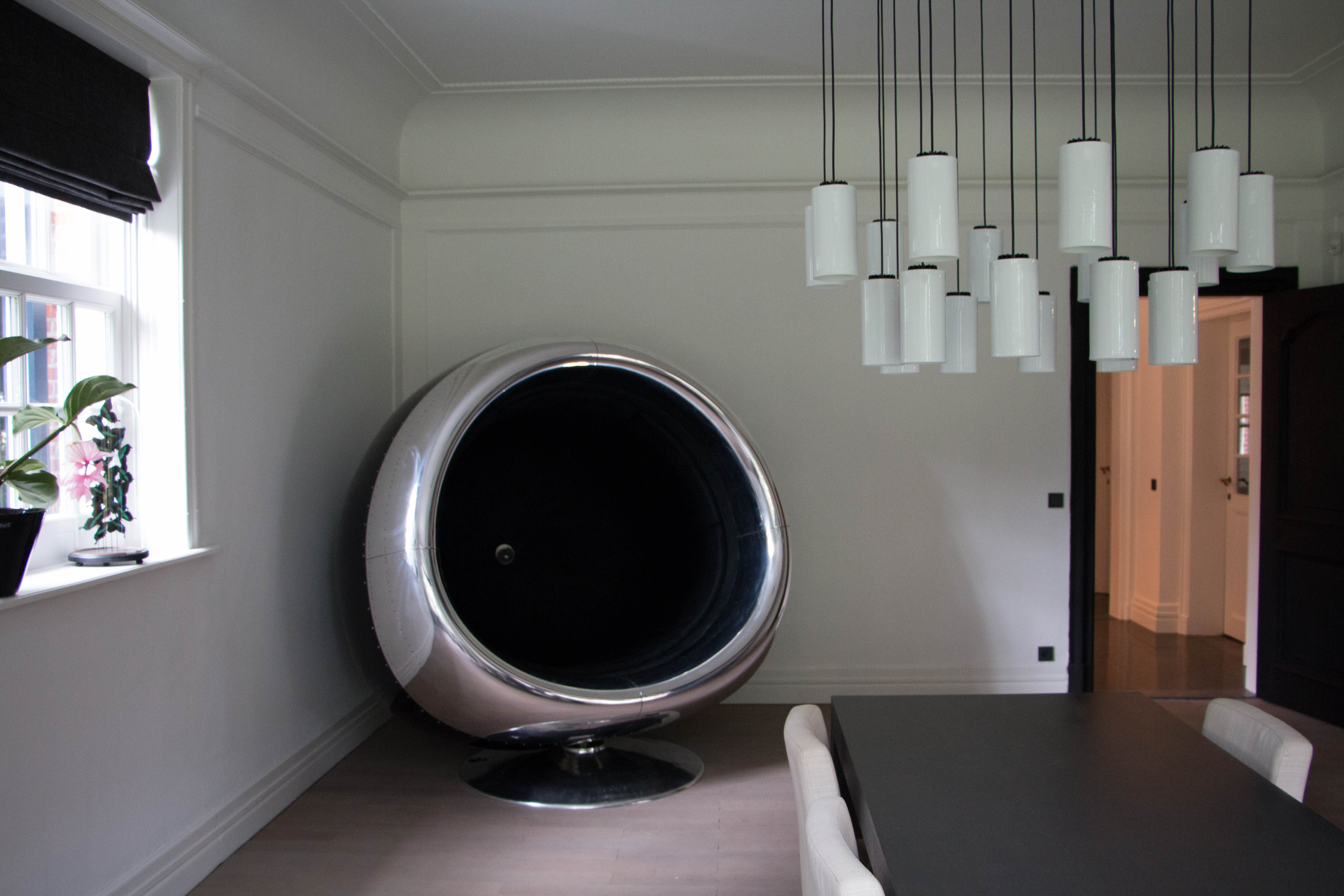 Boeing 737 Engine cowling chair made by Plane Industries in the
