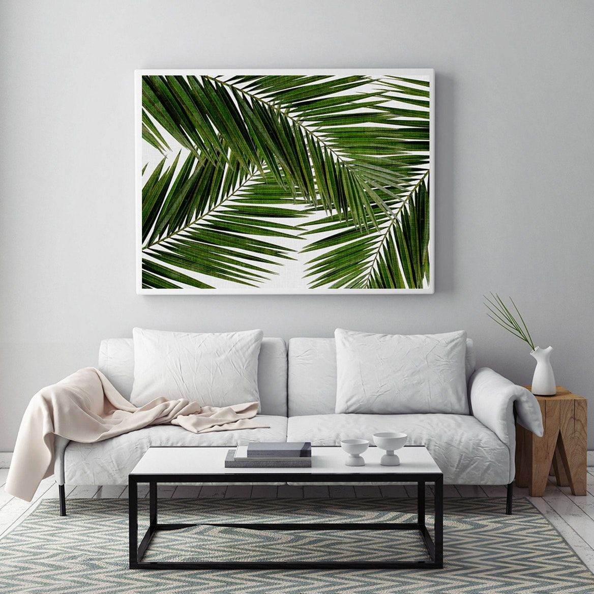 10+ Amazing Palm Tree Living Room Decor