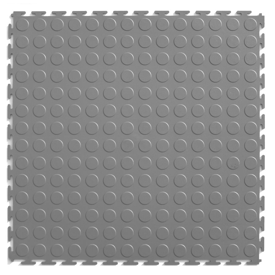 Perfection floor tile 8 piece 205 in x 205 in light gray raised perfection floor tile 8 piece 205 in x 205 in light gray raised coin garage floor tile cn540lg45 doublecrazyfo Gallery