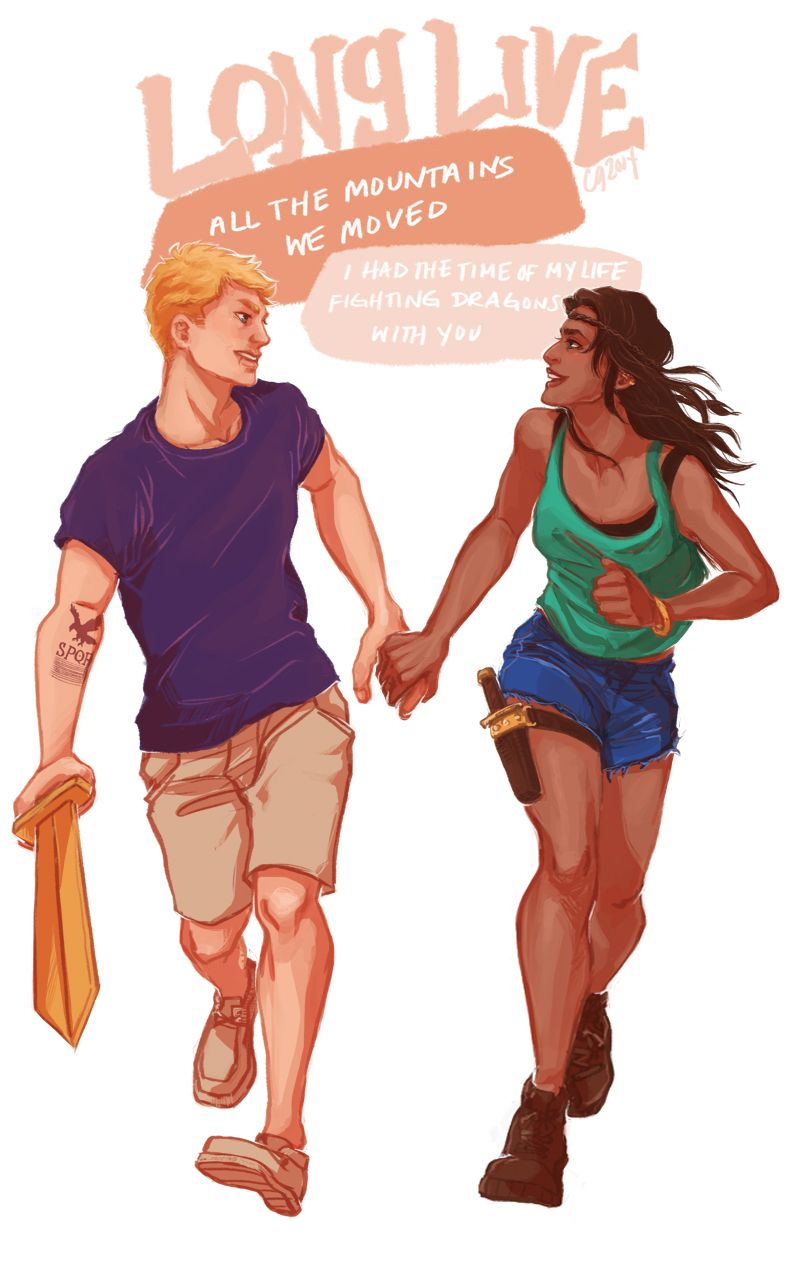 Jason Grace and Piper McLean #percyjackson and to a taylor ...