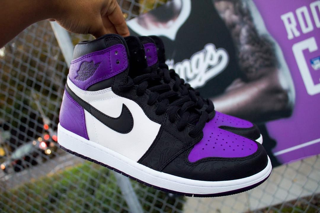 fa3538219cca Sacramento Kings Custom Air Jordan 1 Laser