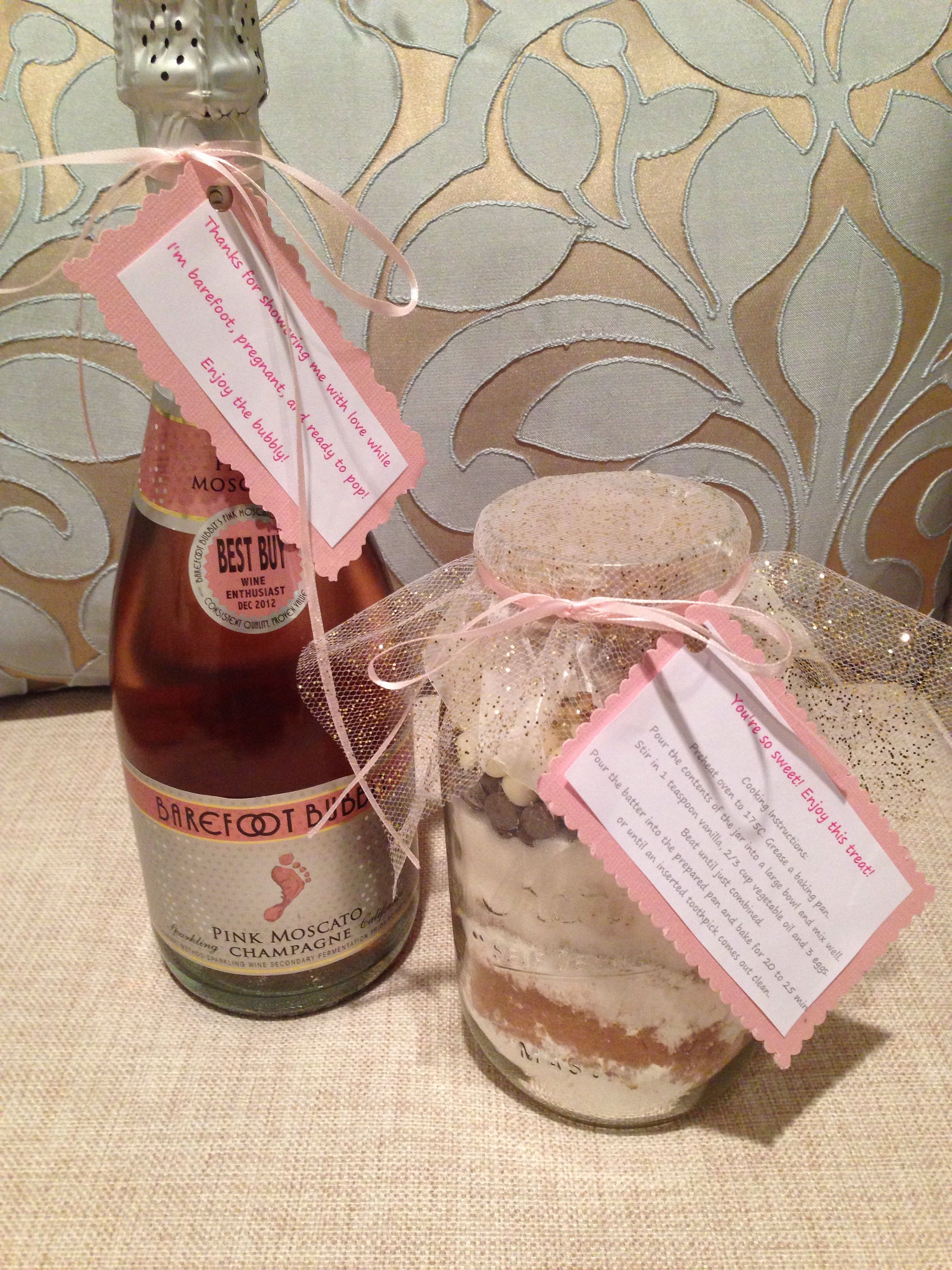 My Diy Baby Shower Hostess Gifts Thanks For Showering Me With Love