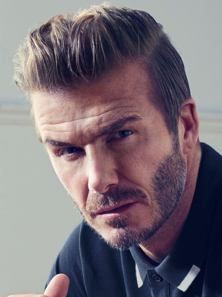 David Beckham Hairstyles 2018 Celebrity Hairstyles Pinterest