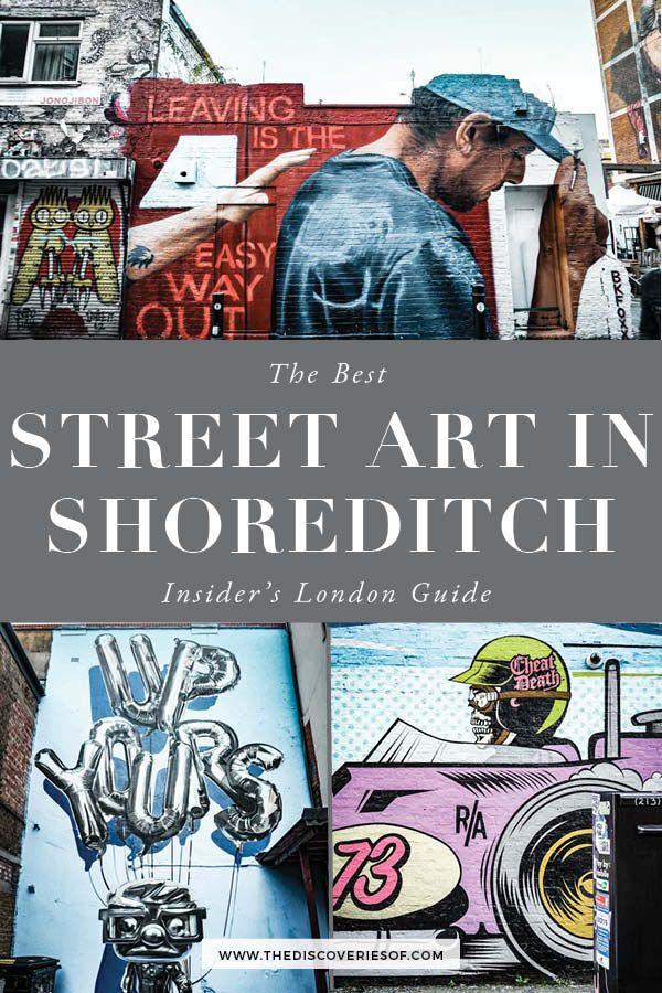 London Map Shoreditch Area: Street Art In Shoreditch, London