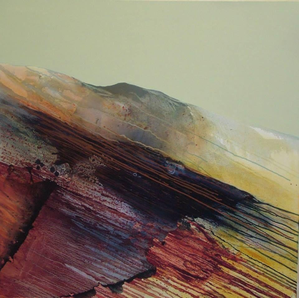 Artist Glynnis Carter Cumbrain Fells Art Seascape Artwork Landscape