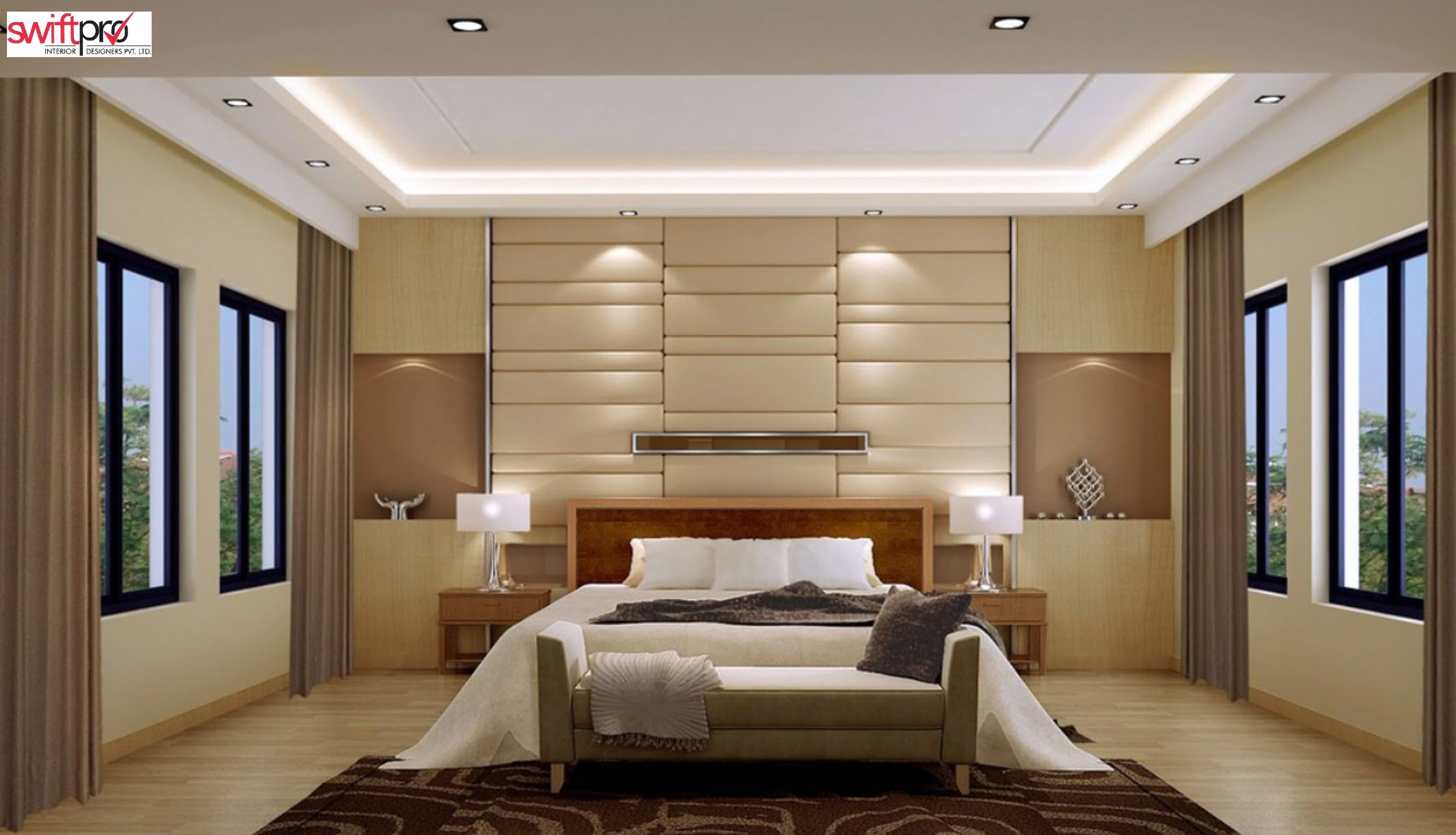 Bedroom Interior Designing Bedroom Modern Bedroom Interior Design 3D Max 3D Render  The