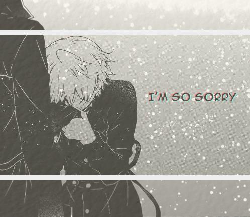 """(gif) """"I'm so sorry."""" Gilbert and Oz Pandora Hearts"""